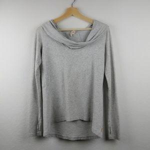 Lucy Hooded Cowl Neck Sweatshirt Hoodie S